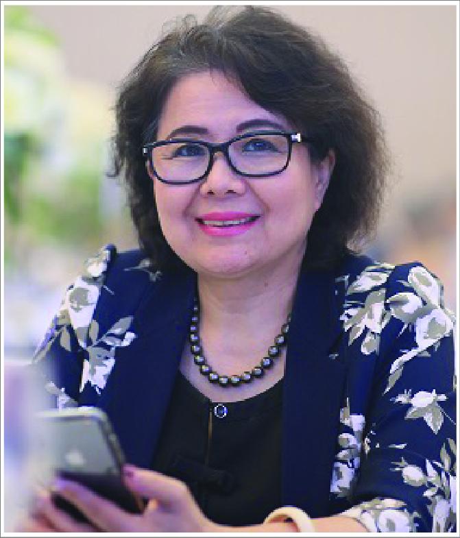 Bà Nguyễn Thị Tuyết Minh